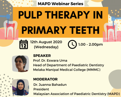 Pulp therapy in primary teeth