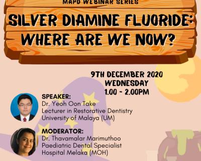 Silver diamine fluoride: Where are we now?