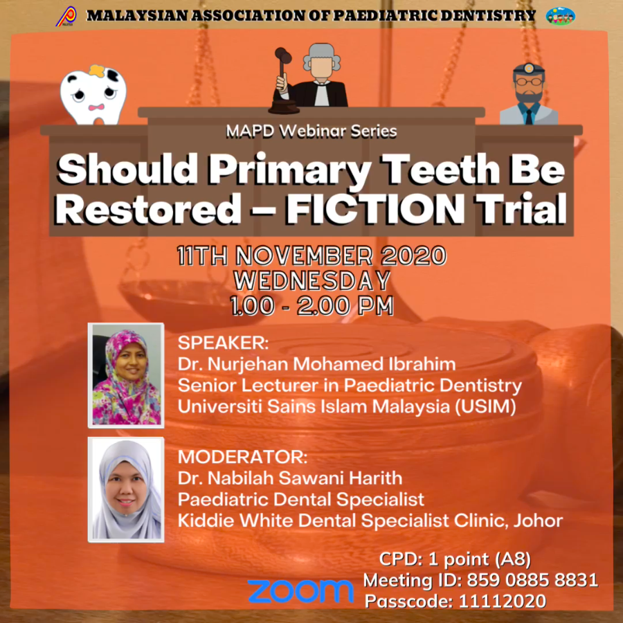 Should primary teeth be restored – FICTION Trial