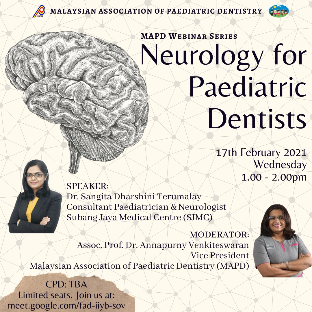 Neurology for paediatric dentists